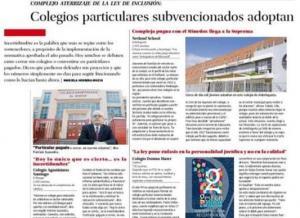 Reportaje de El Mercurio de Santiago