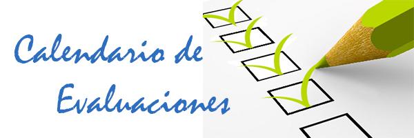 calendario de evaluaciones colegio santa ana