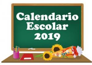 Calendario Escolar 2019